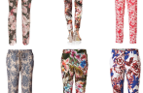 Blumen Style Marken Hosen Paket