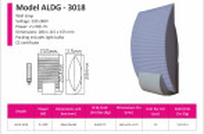ALDG-3018 Wandleuchte
