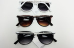 Sunglasses with crystal stones