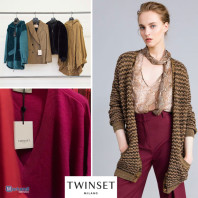 STOCK TWINSET women's winter clothing, footwear and accessories