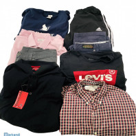 Second hand used men's ENGLISH clothing summer