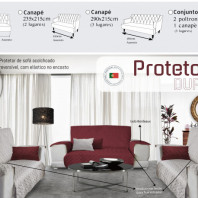 Sofa Cover Double-Sided - Made in Portugal