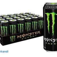 Monster energy drink 500ml - Camión completo - 28 palets