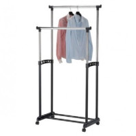 Wholesale clothes rack for hangers adjustable in height