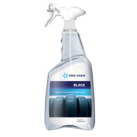 PRO-CHEM BLACK Liquid for the care of plastic and rubber 750ml