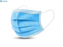 Face Mask, Protective 3-layer nonwovens - IN STOCK in EU !