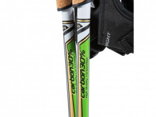 NEW nordic walking poles 30% carbon (made in Europe)