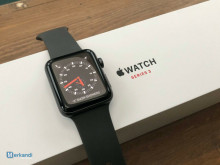 Apple Watch Series 3 (GPS + Cell) 42mm Space Gray Aluminum + Apple box