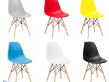 Designer chairs / retro / dining chairs wholesale / set of 4 different coloyrs