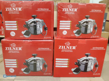 Pressure cookers of various sizes! Steaming pot
