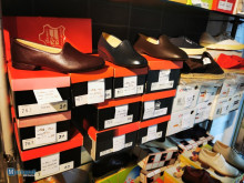 100% leather footwear clearance