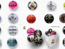 Complete Collection of Official Licensed Real Madrid Balls
