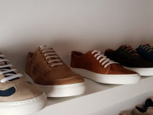 Man Shoes leather stock