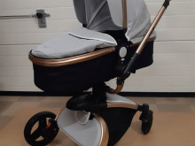 Baby Buggy Stroller 3 in 1 Deep 360 rotating baby carriage