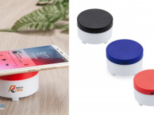 361/5000 Bluetooth speaker with wireless charging