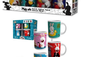 lots de mugs Lapins Crétins