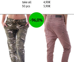 Stock Women's Pants Spring/Summer