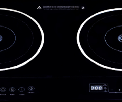 Two-plate induction cooker