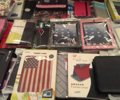 Pockets for tablets