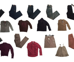 Clothes stocklots for women and men