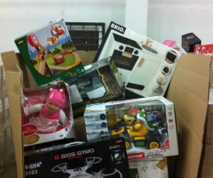 Manifested toy pallets returns