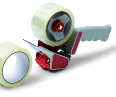 TAPE DISPENSER WITH 2 PP TAPES