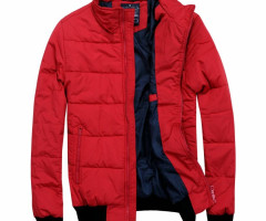 High quality fiber winter jackets