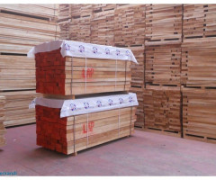 Beech timber long steamed edged AB quality