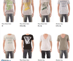 Stock Men's T-Shirts Sping/summer