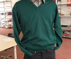 STOCK MAN WOOL SWEATER