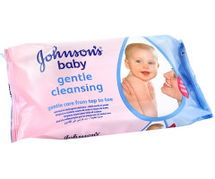 Johnson's Baby Wipes 56 pieces
