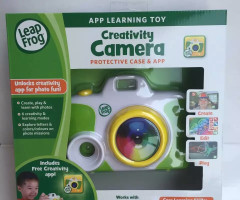 LeapFrog Creativity Camera App with Protective Case,