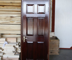 Interior doors of solid fir