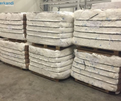 ADULT DIAPERS pressed in bales