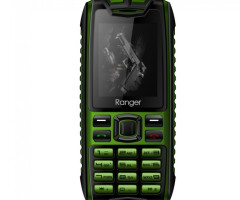 Mobile Phone Ranger, Green, Dual Sim