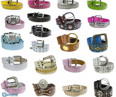 100 x Fashionable Women's Belts per 0.99 EUR