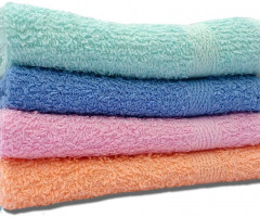 Plain terry towels 30x30 , 400gsm , 100% cotton