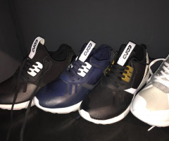 Trendy men sneakers, leisure sports shoes, 9.99 EUR per pair