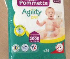 "Baby Diapers ""pommette"""