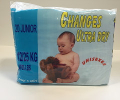 "Diapers ""Changes Ultra Dry - pommette"""