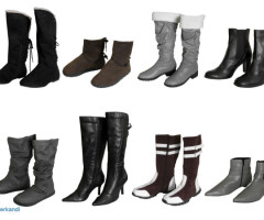 Women's boots and shoes mix
