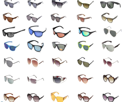 Sunglasses - customer returns Ray Ban, Oakley, Esprit, Marc Jacobs