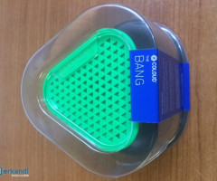 NOKIA MD-1C PORTABLE MINI WIRED SPEAKER-THE BANG BY COLOUD - GREEN