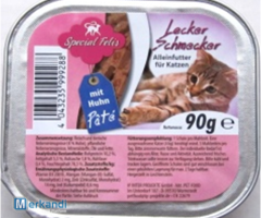 Special Felies complete feed for cat souffle with chicken skin 90g