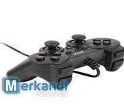 Game Pad W/ Shock , 8 way direction button, Plug and Play