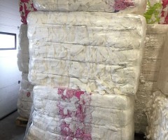 Sanitary napkins  in bales
