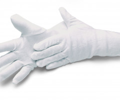 GLOVES, COTTON STAR LONG