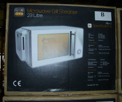 Microwaves with steam cooking option
