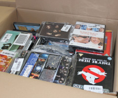 UK Media customer returns - DVD, Music, BluRay, Vinyl