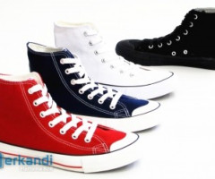 Fashionable women children men's casual shoes per pair 3.95 EUR